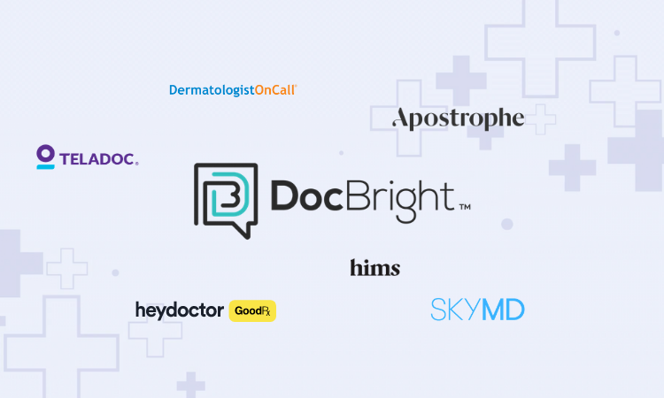 DocBright Telehealth Explainer Video Overlay